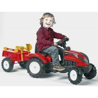 Alltoys Falk Traktor Ranch Trac vlek lopatka hrabičky 2