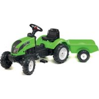 Fak Traktor šliapací Garden Master s vozíkom