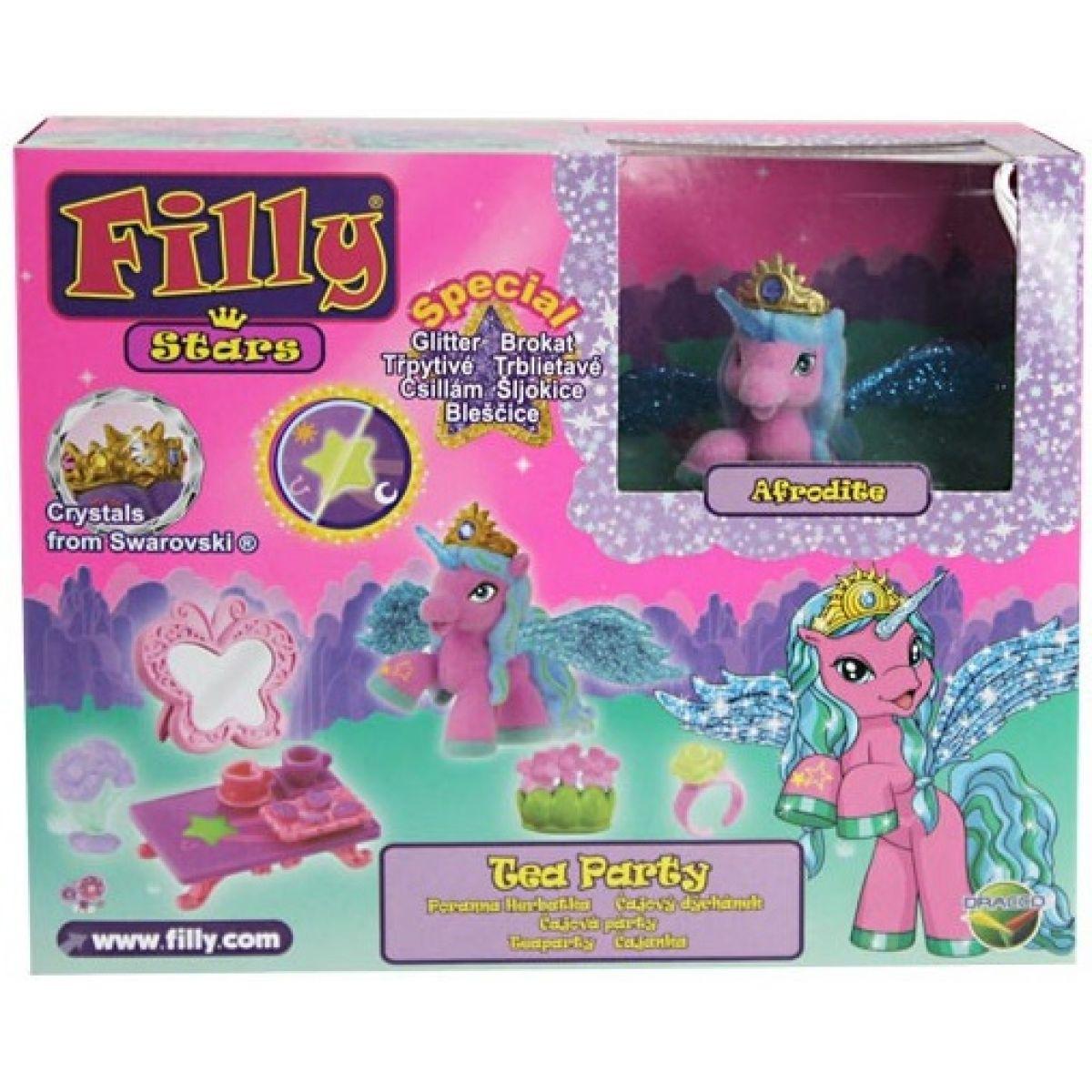 Filly Stars Glitter Hracia sada - Čajový dýchánek