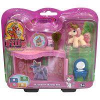 EPline Filly Unicorn pokoj snů modrý s postýlkou 6