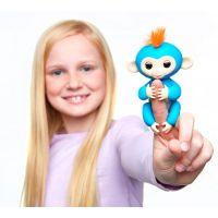 Fingerlings Opička Boris modrá 4