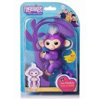 Fingerlings Opička Mia fialová 5