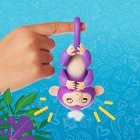 Fingerlings Opička Mia fialová 6
