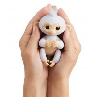 Fingerlings Opička trblietavá Sugar biela 3