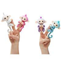 Fingerlings Opička trblietavá Sugar biela 4
