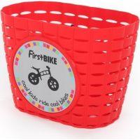 First Bike Košík na riadítka červený