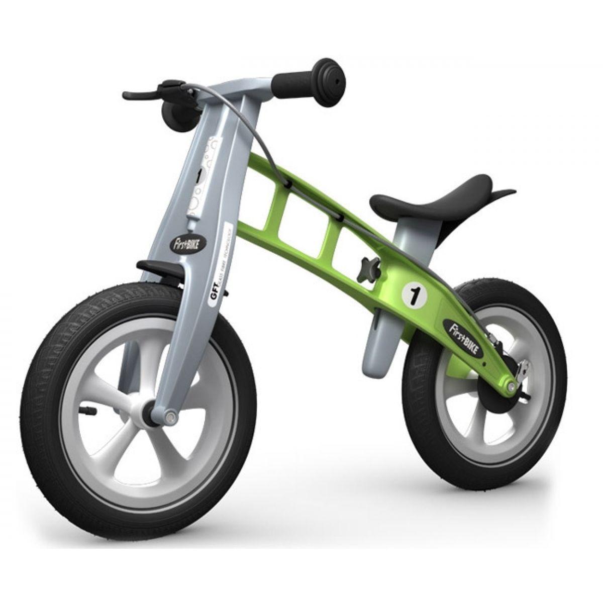 First Bike Odrážadlo Racing green