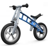 First Bike Odrážadlo Street light blue s brzdou