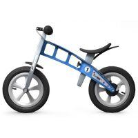 First Bike Odrážadlo Street light blue s brzdou 4