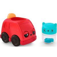 Fisher Price Hrkacie vozítka červené auto