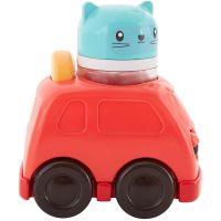 Fisher Price Hrkacie vozítka červené auto 2