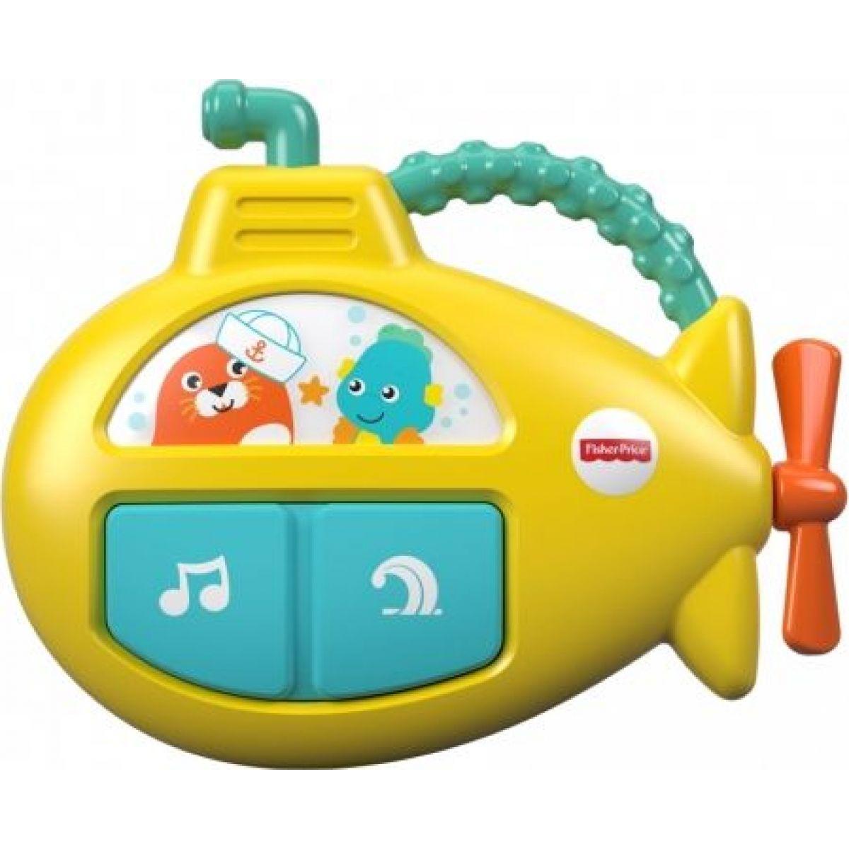 Fisher Price hudobný ponorka