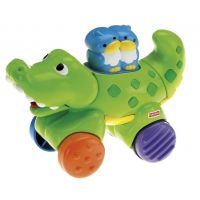 Fisher Price Jazdiace zvieratko - Krokodíl