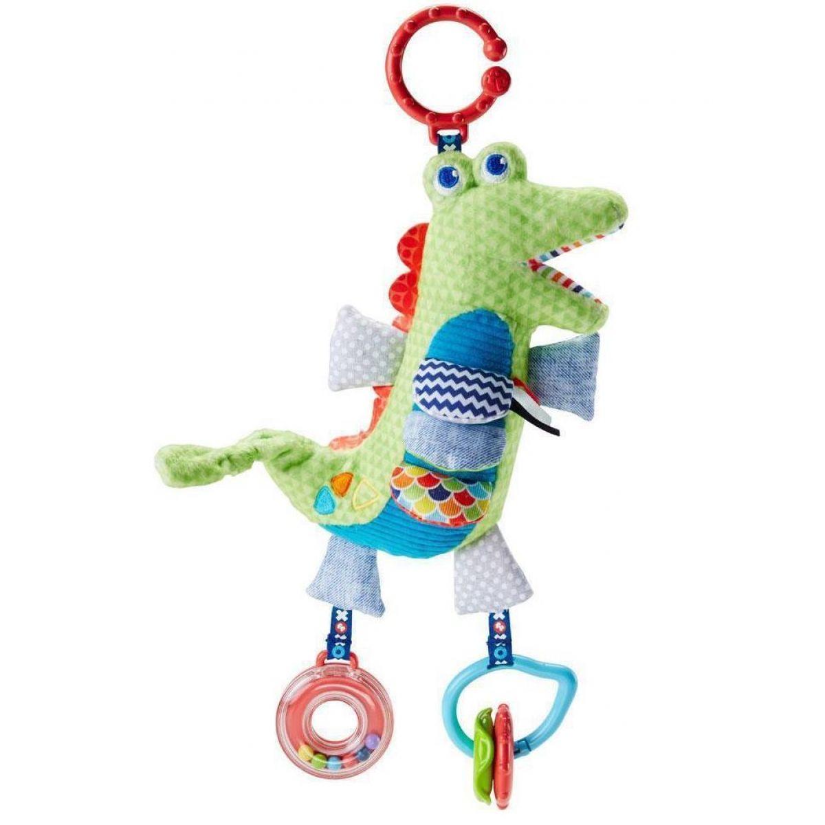 Fisher Price Mäkkučký krokodíl s aktivitami
