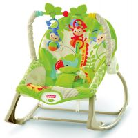 Fisher Price Baby Gear sedátko od bábätka po batoľa Rainforest (Fisher Price CBF52)
