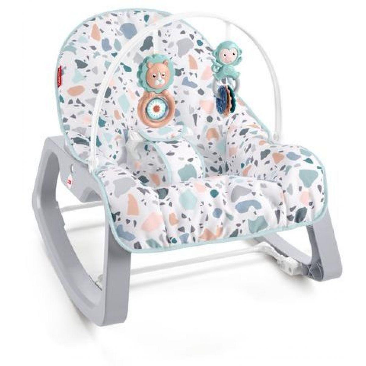 Fisher Price sedátko od bábätka po batoľa Terrazzo