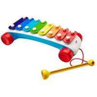 Fisher Price zábavný tahací xylofon