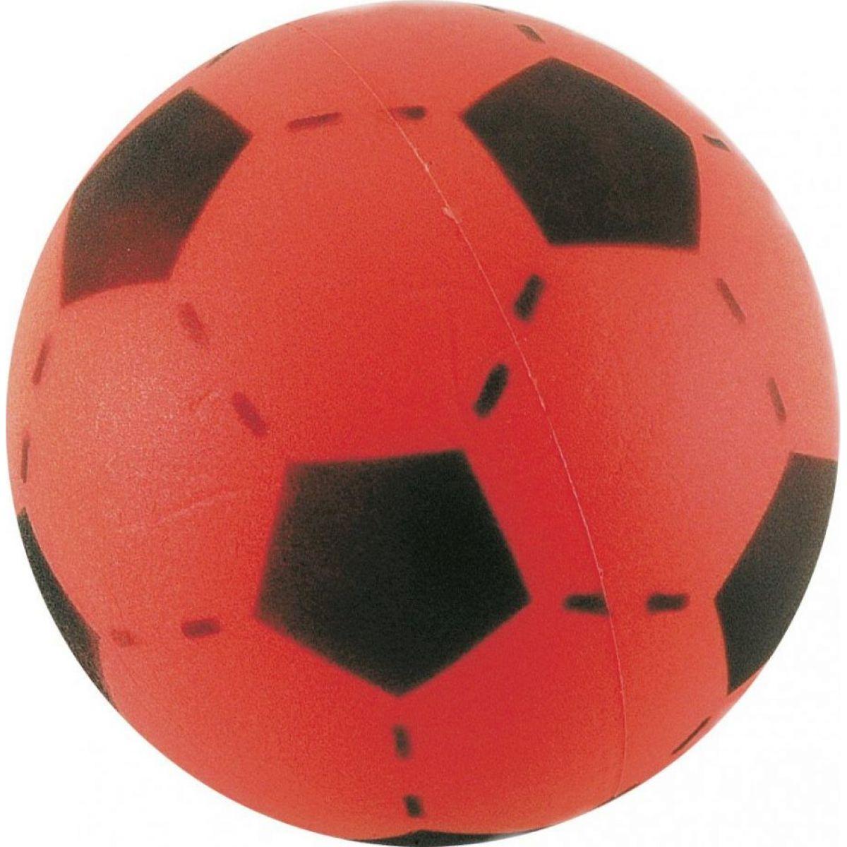 Frabar soft lopta futbal 20 cm Červená