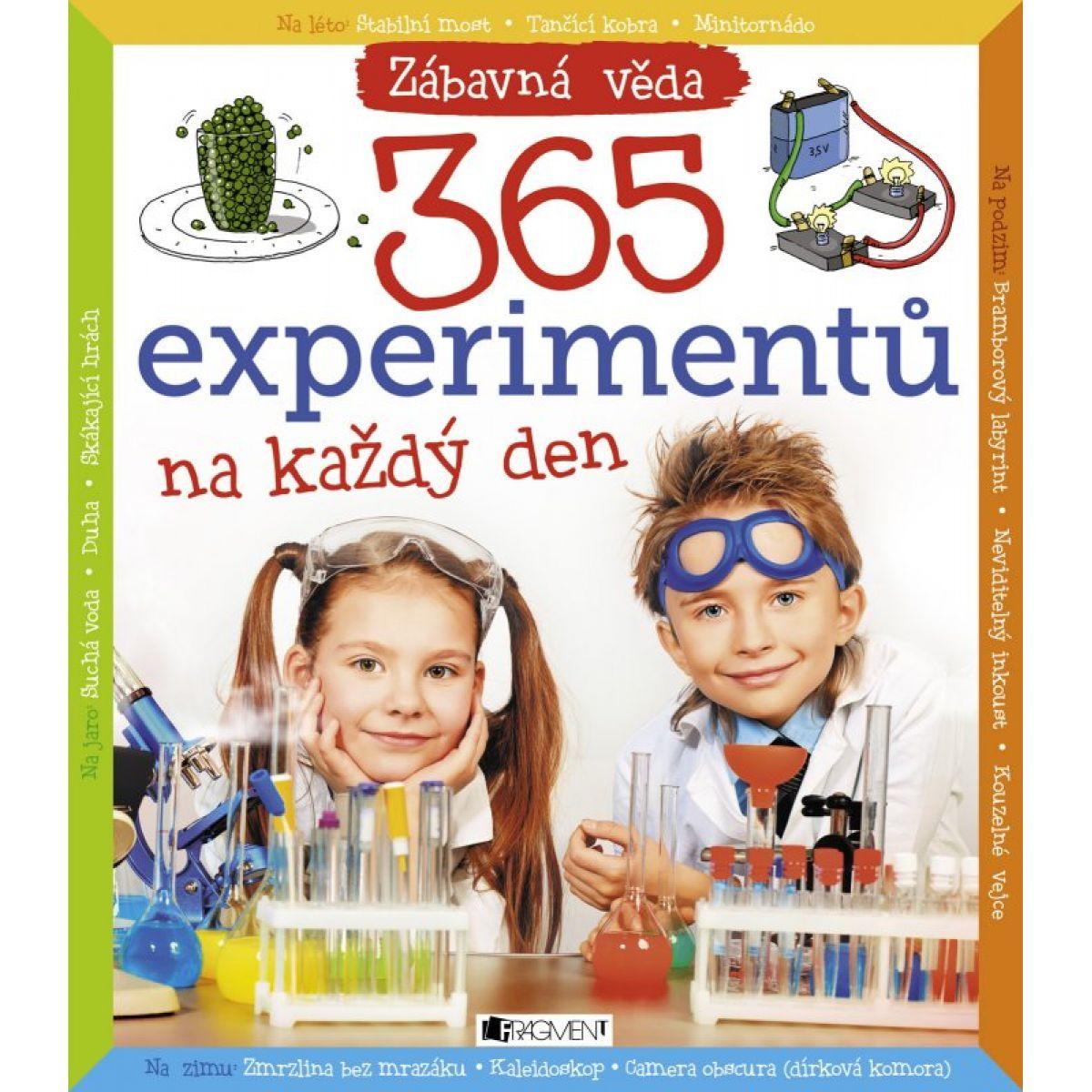 365 experimentov na každý deň CZ