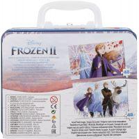 Spin Master Frozen 2 puzzle v plechovom kufríku 2 x 48 dielikov 5