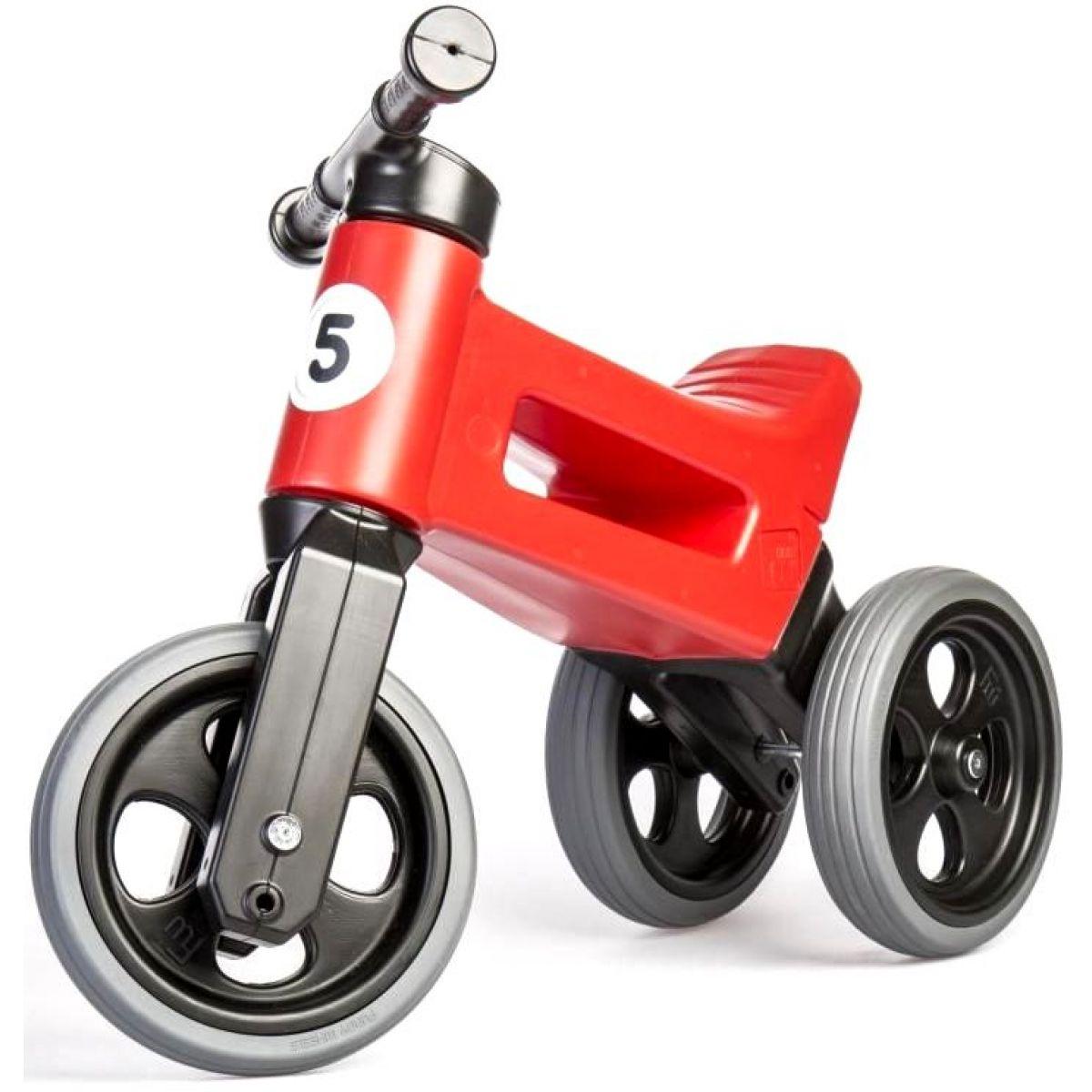 Funny Wheels Odrážadlo new sport 2v1 červené