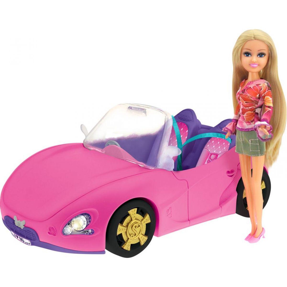 Funville Módne bábika Sparkle Girlz so závodným autom