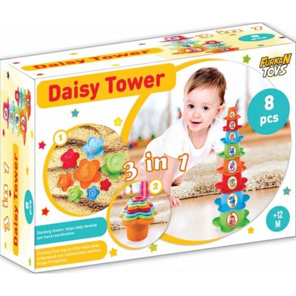 Furkan Toys skládací kelímky 3 v 1