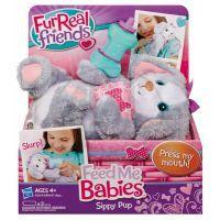 Hasbro A1647 - FurReal Friends - Zvířátko s krmením - méďa 4