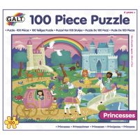 Galt Puzzle v krabici Princezné 100 dielikov