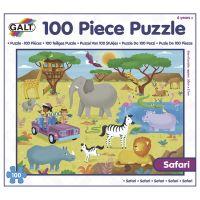Galt Puzzle v krabici Safari 100 dielikov