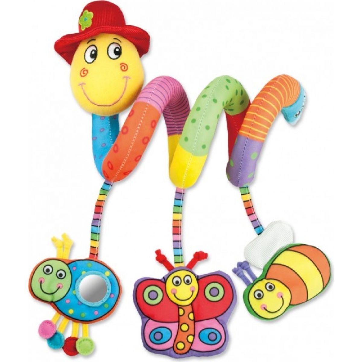 Galt Detská hračka na postieľku Červík Pepík