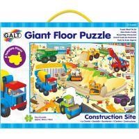 Galt Veľké podlahové puzzle Na stavenisku
