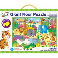 Galt Veľké podlahové puzzle – zvieratká v džungli