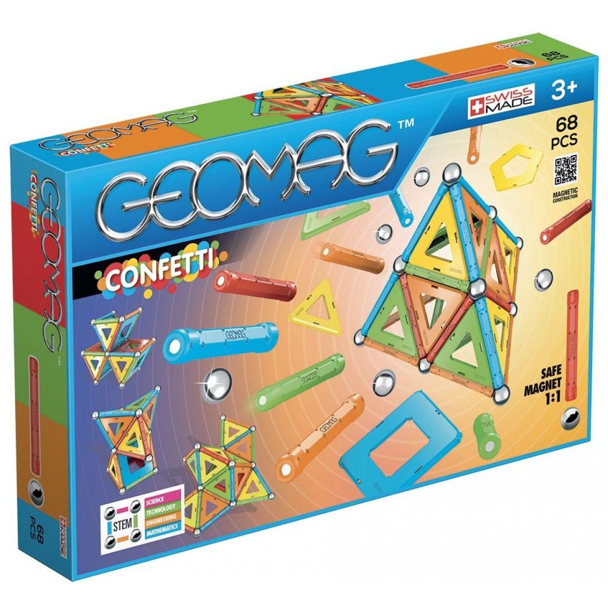 Geomag Confetti 68
