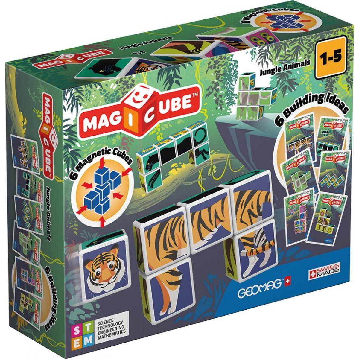 Geomag Magicube Jungle animals