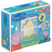Geomag Magicube Peppa Pig Peppas House & Garden