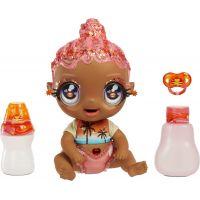 Glitter Babyz Bábika Coral Pink