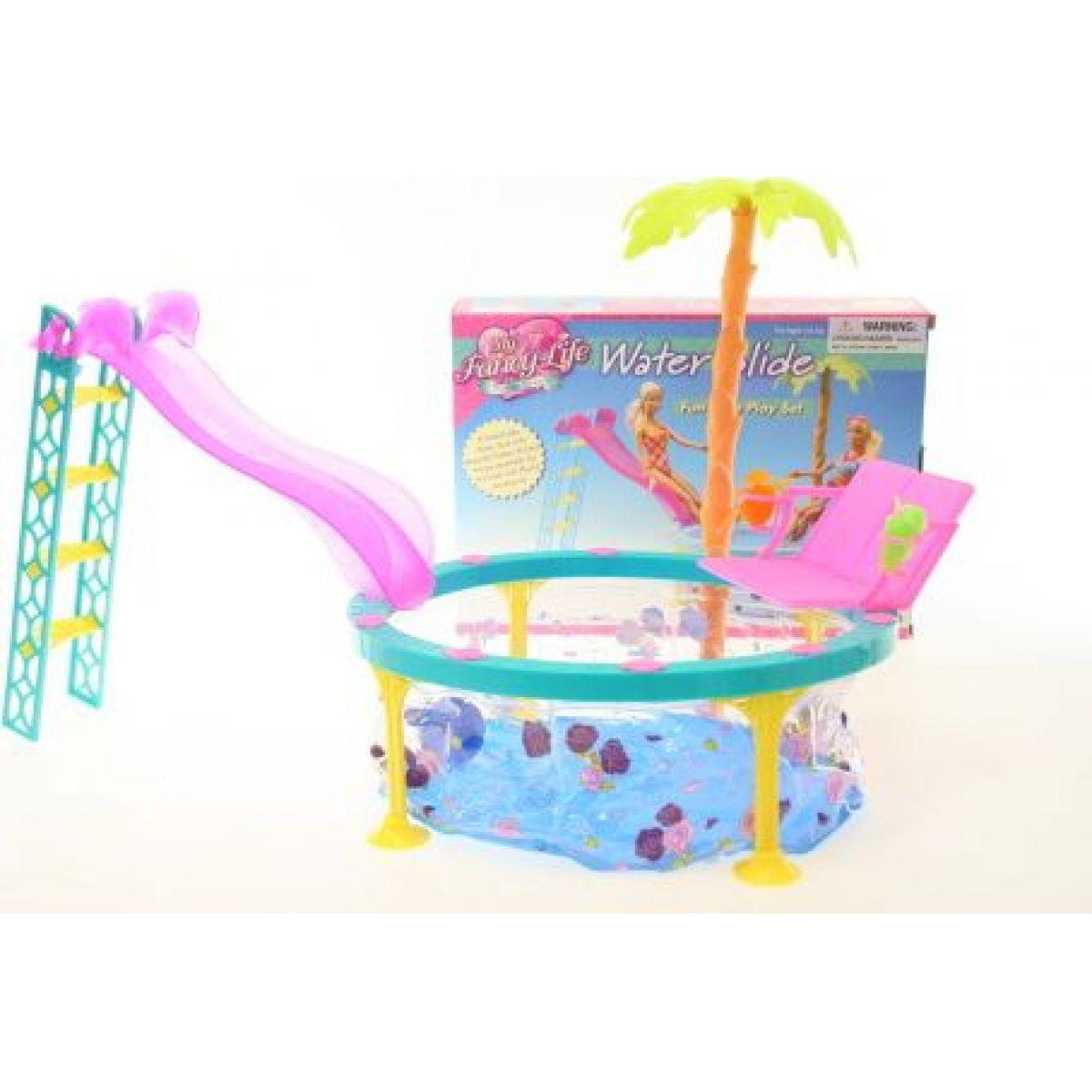 Glorie bazén so šmýkačkou