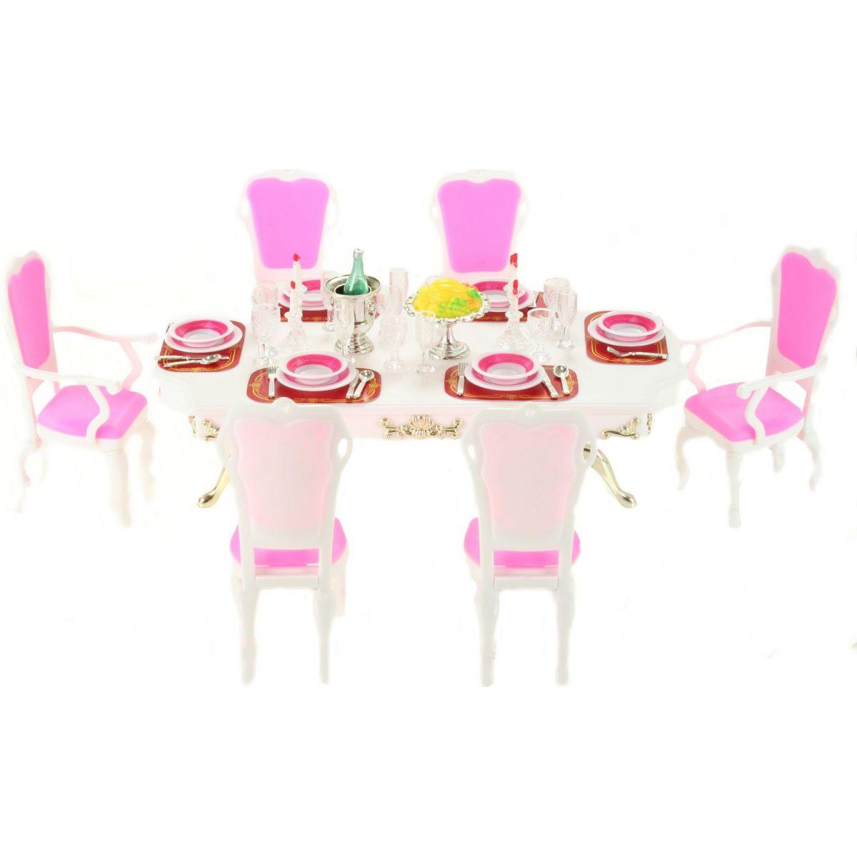 Glorie Jedálenský stôl s doplnkami