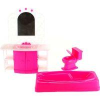 Glorie Kúpeľňa pre bábiky modelky