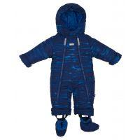 Gmini Kombinéza zimní kojenecká Bilblo chlapec modrá 74