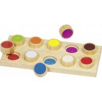 Goki hmatová hra různé povrchy
