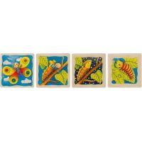 Goki Motýľ vývojové vrstvené puzzle