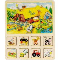 Goki pamäťová didaktická hra Farma a Cirkus 6