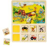 Goki pamäťová didaktická hra Farma a Cirkus 2