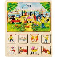 Goki pamäťová didaktická hra Farma a Cirkus 3