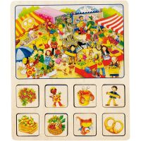 Goki pamäťová didaktická hra Farma a Cirkus 4