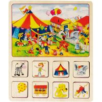 Goki pamäťová didaktická hra Farma a Cirkus 5
