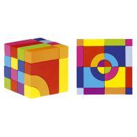 Goki 58660 Farebná kocka 2 v 1
