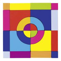 Goki 58660 Farebná kocka 2 v 1 2
